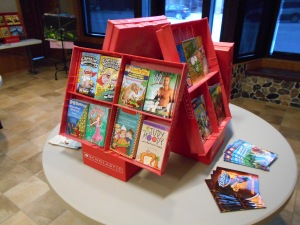 Display for December 2013 Book Fair